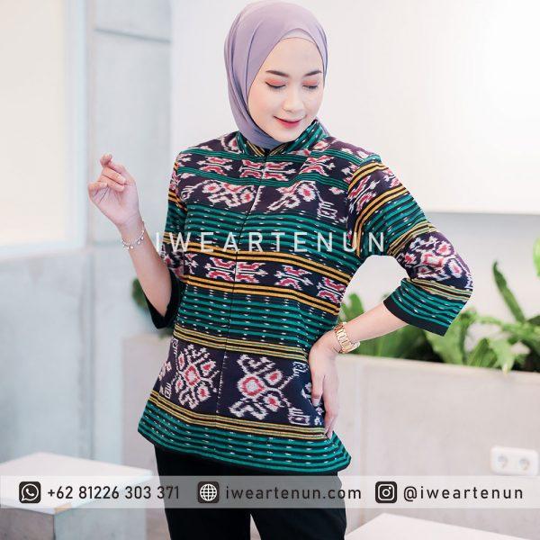 BAJU-TENUN-DRESS-TENUN-KEMEJA-TENUN-JEPARA-INDONESIA-TROSO-BLOUSE-TENUN-011