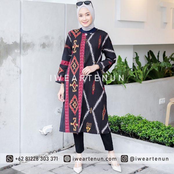BAJU-TENUN-DRESS-TENUN-KEMEJA-TENUN-JEPARA-INDONESIA-TROSO-BLOUSE-TENUN-CARDY-TENUN-KARDIGAN-OUTER-TENUN-BLAZER-022