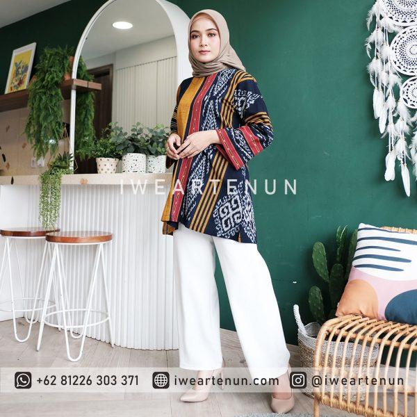 IWEARTENUN-BAJU-TENUN-DRESS-TENUN-KEMEJA-TENUN-JEPARA-INDONESIA-TROSO-BLOUSE-TENUN-CARDY-TENUN-KARDIGAN-OUTER-TENUN-BLAZER-040