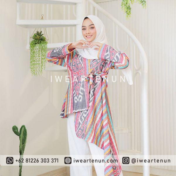IWEARTENUN-BAJU-TENUN-DRESS-TENUN-KEMEJA-TENUN-JEPARA-INDONESIA-TROSO-BLOUSE-TENUN-CARDY-TENUN-KARDIGAN-OUTER-TENUN-BLAZER-056